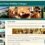Blakelow Farm Holiday Cottages website front page