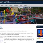 Front page of Erewash Canal Preservation & Development Society website