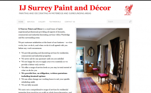 I J Surrey Paint & Decor