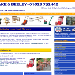 Blake & Beeley (Kirkby) Ltd website
