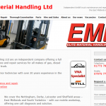 Elite Material Handling website