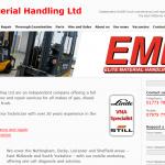 Elite Material Handling website